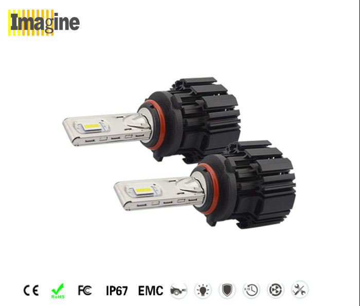 LED headlight conversion kit, Fanless HB3 9005 LED Headlight Bulb 6800lm 6000k Car LED Lighting Kit