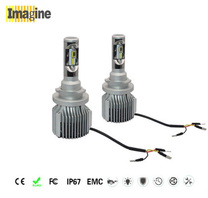 CSP LED headlight bulb and replacement LED bulb Super White 8000 Lumen Led Headlight Bulb 72w Auto Parts Accessories
